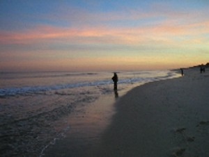 Surf fishing can be like that certain tides times for Surf fishing nj
